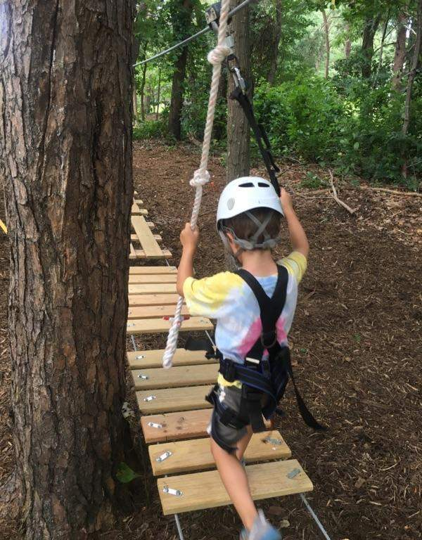 The 828 & New Trail Opens At Asheville Treetops Adventure Park - The 828